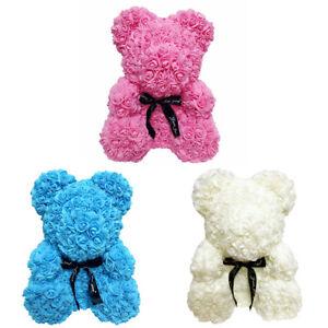 Rose-Teddy-Bear-Foam-Rose-Flower-Bear-Gift-For-Birthday-Wedding-Christmas-FASUSZ