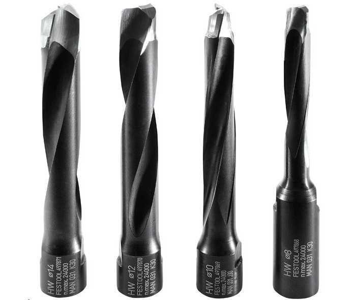 FESTOOL Fräswerkzeug HW in ⌀ 8   10   12   14 mm für DOMINO Dübelfräse DF 700