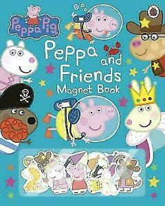 Peppa-Pig-Peppa-and-Friends-Magnet-Book-by-Peppa-Pig-Hardback-NEW-Book