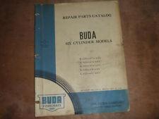 Buda 6 Cylinder Engine L 525 4 12 X 5 12 Parts Catalog Manual