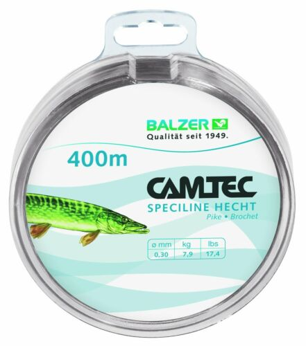 Zielfisch ficelle Camtec speziline brochet 0,35mm 400m