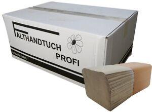 5000/10000 Blatt Falthandtuchpapier 1-lagig  Papierhandtuch zickzack 25 x 23 cm