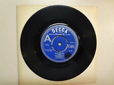 """ZOMBIES:Tell Her No 2:10-What More Can I Do-U.K. 7"""" 65 Decca Record F.12072 Demo"""
