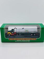"""New Condition!! 2004 HESS Mini Miniature /""""Tanker Truck/"""" NIB"""