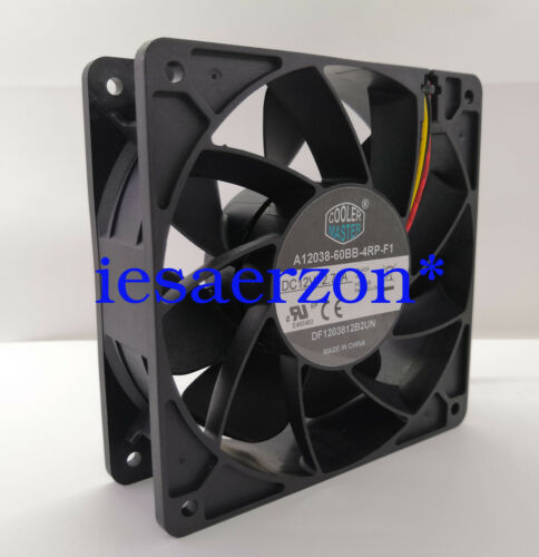 for A12038-60BB-4RP-F1 2.7A 12V 12CM S9 S7 Fan