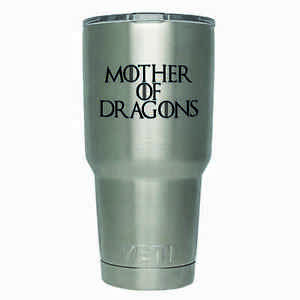 2-Pack-Mother-Of-Dragons-Yeti-Decal-3-Inches-Premium-Black-Vinyl