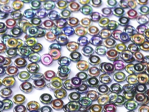 25 grams-O Beads® are Hot! Czech O-Beads® 2.0mm X 4.0mm