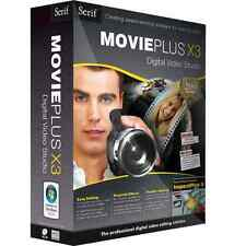 NEW and Sealed Serif MoviePlus X3 Digital Video Redigering Software by Serif
