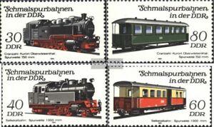 DDR-2864-2867-kompl-Ausgabe-gestempelt-1984-Schmalspurbahnen