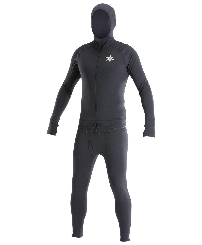 NIB Airblaster Mens Classic Ninja Suit Base Layer XS X-Small Snowboard pr810