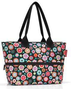 reisenthel shopper e1 Tasche Einkaufstasche Damentasche happy flowers RJ7048
