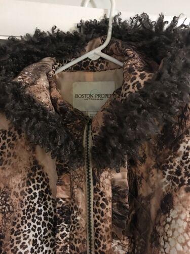 avec Boston camouflage zippée Coat bordure fermeture en Proper fourrure Veste capuche fausse 4 à et 0YqxEwT