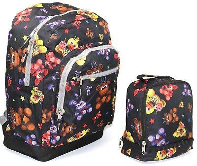 "Disey Frozen Anna /& Elsa 16/"" Girls Backpack Lunch Bag SET 0100-6899"