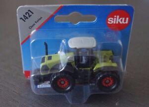 SIKU-1421-CLAAS-XERION-vert-clair-blanc-sous-blister