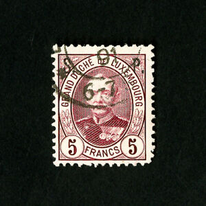 Luxembourg-Stamps-O74-Used-VF-Scott-55-00