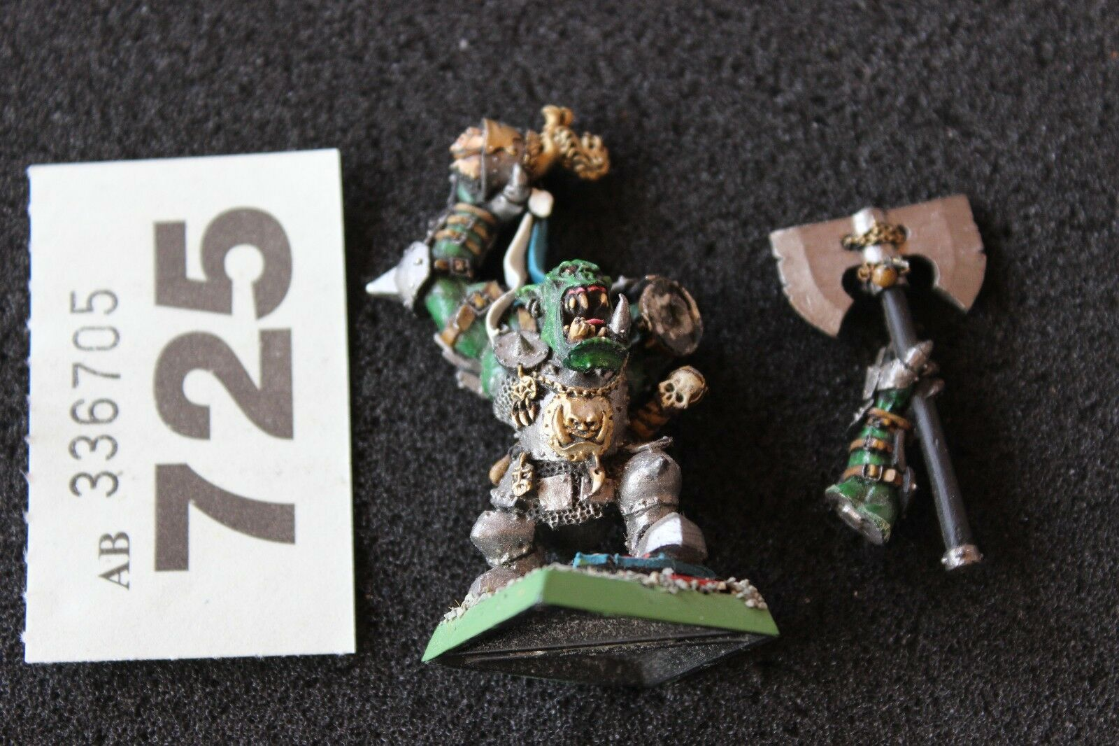 Games Workshop Warhammer Fantasy Grimgor Ironhide Orcs Warlord Metal Painted