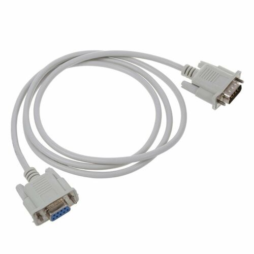 RS232 DB9 9 Pin Male to Female Serial Port Cable Industrial Adapter 1.3M I6Q6