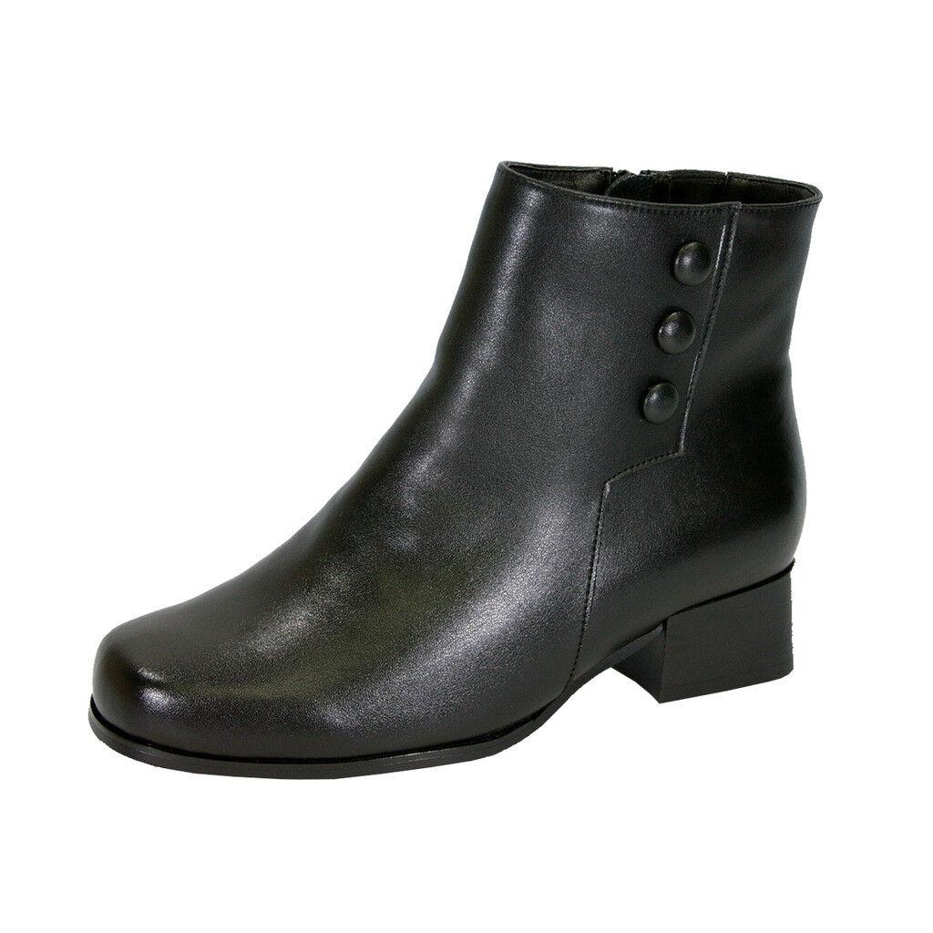 PEERAGE Page damen Wide Width Inner Fleece Lining Comfort Leather Dress Stiefelie