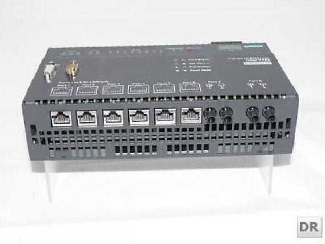 Siemens 6GK1105-2AB00 / 6GK1 105-2AB00 OPTICAL SWITCH NET TP62 / E:02 V2.0.0.0