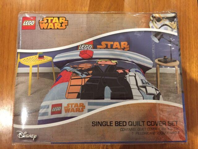 BRAND NEW LEGO  Star Wars KIDS QUILT DOONA SET SINGLE
