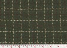 100% Wool Plaid Upholstery Fabric Ralph Lauren R$152yd Hitching Post Ck CL Olive