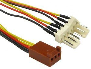 Computer-PC-Case-fan-extension-3-PIN-FAN-POWER-Y-SPLITTER-Cable-Lead-15cm-3Pin