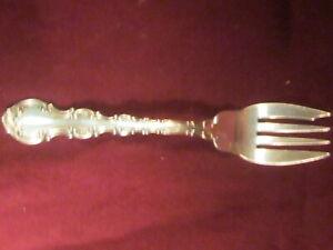 Sterling Silver Flatware Gorham Strasbourg Salad Fork