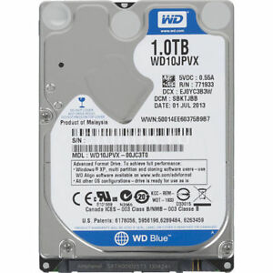 Western-Digital-Blue-1TB-SATA-2-5-034-Laptop-Hard-drive-HDD-5400-RPM-WD10JPVX