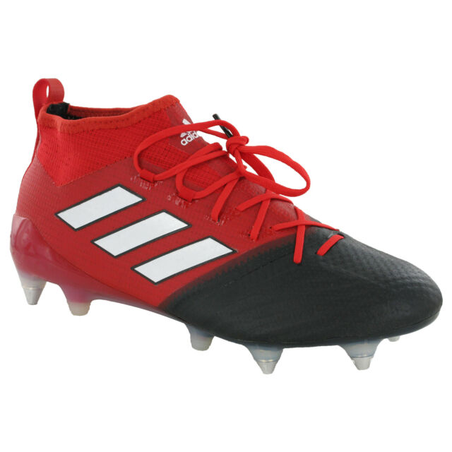 0e6a86294c6a Adidas ACE 17.1 PRIMEKNIT SG Football Boots Mens Studded Soccer Cleats  BA9188