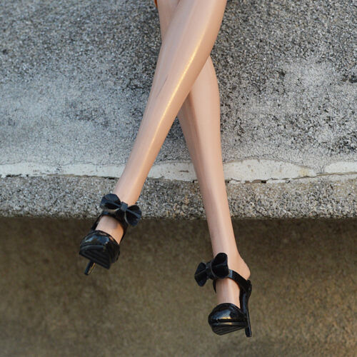 """Sherry Black Sandals shoes for Fashion royalty FR2 Nu Face 2 12/"""" poppy parker"""