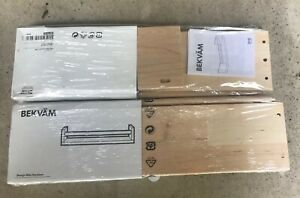 Details About Two 2 Ikea Bekvam Spice Racks Or Book Shelf For Children S Books New