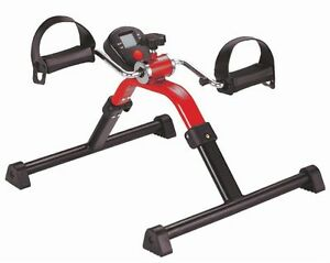 Heimtrainer Mangelware rot Pedaltrainer Arm Und Beintrainer Digital Bewegungstrainer