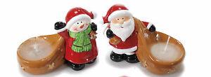 Figurines-de-Noel-en-ceramique-de-couleur-avec-bougie