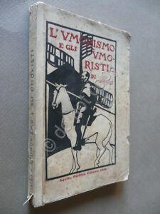 L-039-Umorismo-e-gli-Umoristi-Silvius-Silvio-Spaventa-Filippi-Perfilia-1900-1-Ed