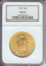 1926 $20 ST. GAUDENS DOUBLE EAGLE  NGC MS65 SAINT MS-65 GEM !!!!!!!!!