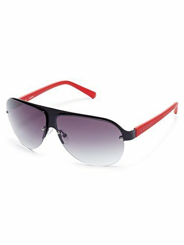 GUESS Women/'s GF0148 Matte Black Sunglasses