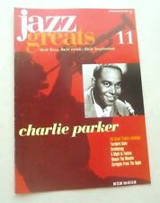 CHARLIE PARKER  JAZZ GREATS THEIR LIVES THEIR MUSIC THEIR INSPIRATION