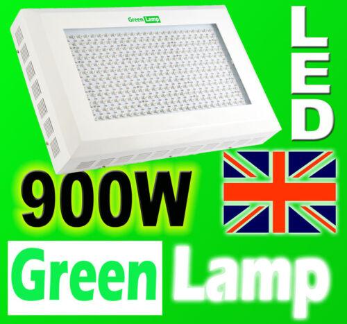 900w Led Verde Lámpara crecer Panel hidropónicas crecer Lámpara Luz De Tablero 3w Led Floración