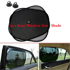 Solid Black eBuyGB Car Window Sun Shade Blinds