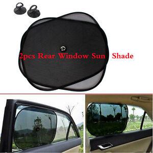 e1cd9a8dbda9 Image is loading 2Pcs-Kids-Children-Car-Sunshade-Blocker-Rear-Window-