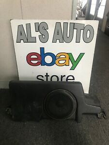 08-12 Ford F350SD Subwoofer Amplifier Sub Amp Rear Seat 7C3T