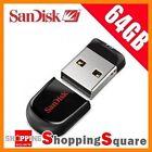 SanDisk 64GB Cruzer Fit Cz33 USB 2.0 Flash Drive Thumb Key Pen Memory Stick