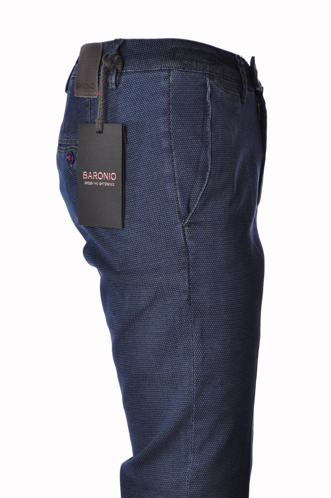 Baronio - Pants-Pants - Man - bluee - 3226006C195729