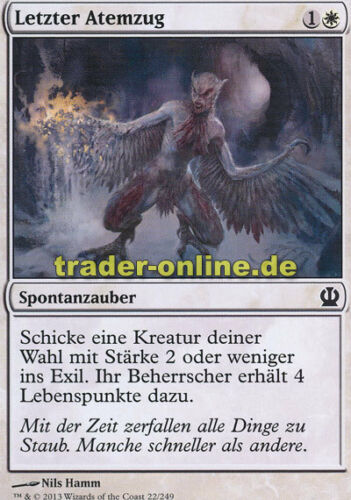 Last Breath 4x Letzter Atemzug Theros Magic