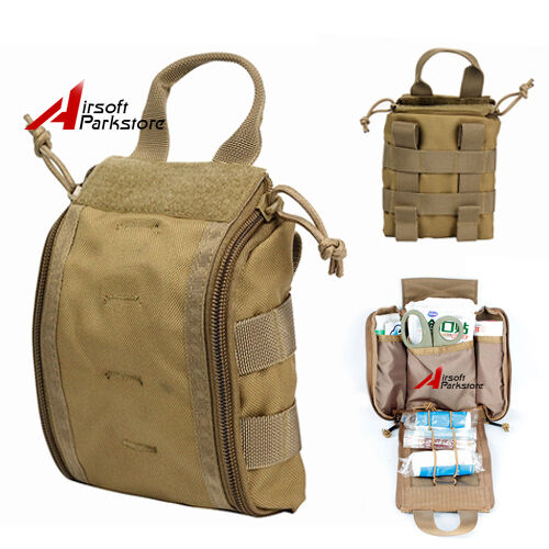 1000d Molle Tactical Rip Away Emt Medical First Aid Pouch Edc Utility Tools Bag Ebay