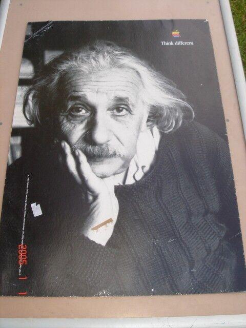 Albert Einstein poster-A1 hard board 600x800, B/w photo