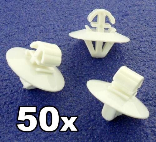 50x MERCEDES SPRINTER côté extérieur moulage /& porte garniture en plastique clips panneau