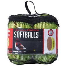 c4fb4e738bc Franklin Sports MLB Official League Synthetic Cork Softball with Mesh Bag