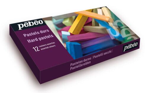 Pebeo artista duro Cuadrado Pasteles Box Set 12 Varios Colores