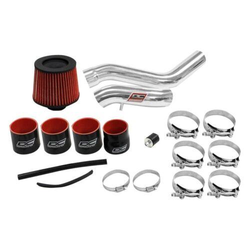 For Hyundai Tiburon 03-08 Air Intake System Aluminum Powder Coated Silver Cold